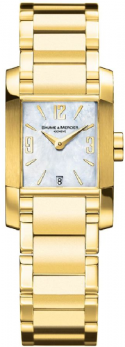 BAUME & MERCIER Diamant 18ct Solid Yellow Gold Ladies Watch 8696